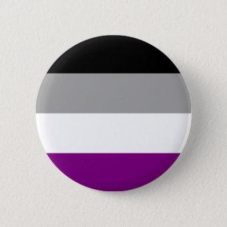 Asexual Pride Flag 6 Cm Round Badge