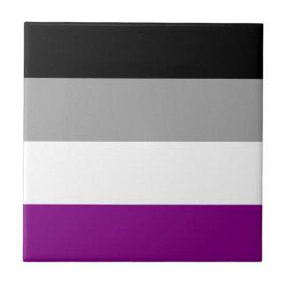 Asexual Pride Flag Ceramic Tile