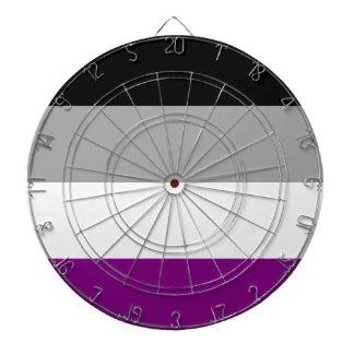 Asexual Pride Flag Dartboard