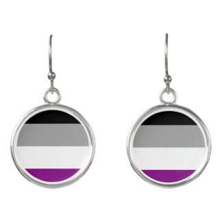 Asexual Pride Flag Earrings
