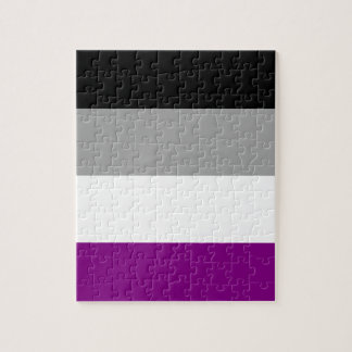 Asexual Pride Flag Jigsaw Puzzle