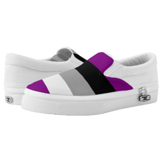 Asexual Pride Slip On Shoes