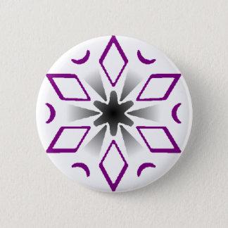 asexual pride snowflake pin