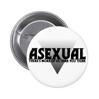 Asexual There s More of Us Than You Think Pinback Buttons
