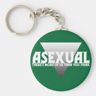 Asexual: There's More of Us Than You Think Basic Round Button Key Ring