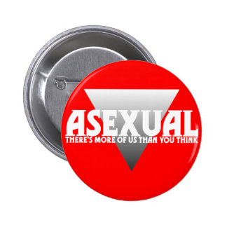 Asexual: There's More of Us Than You Think Buttons