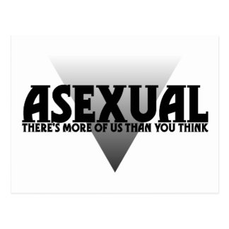 Asexual: There's More of Us Than You Think Postcard