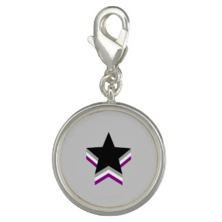 Asexuality pride stars