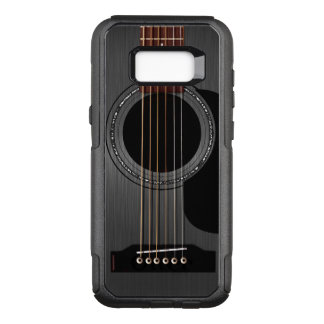 Ash Black Acoustic Guitar OtterBox Commuter Samsung Galaxy S8+ Case