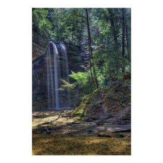Ash Cave Falls Print