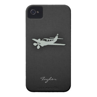 Ash Gray Plane Case-Mate iPhone 4 Cases