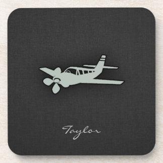 Ash Gray Plane Coaster