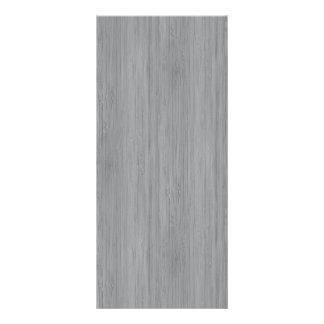 Ash Grey Bamboo Wood Grain Look Rack Cards
