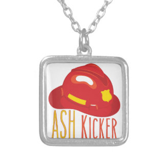 Ash Kicker Silver Plated Necklace