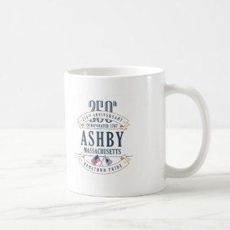 Ashby, Massachusetts 250th Anniversary Mug