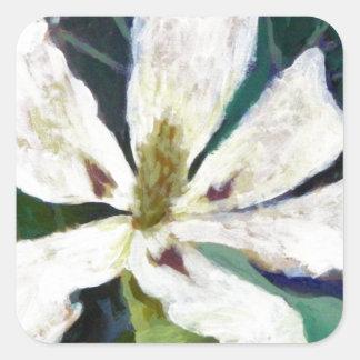 Ashe Magnolia image Square Sticker