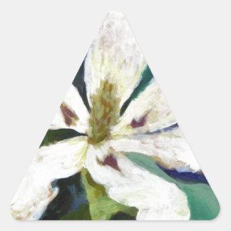 Ashe Magnolia image Triangle Sticker