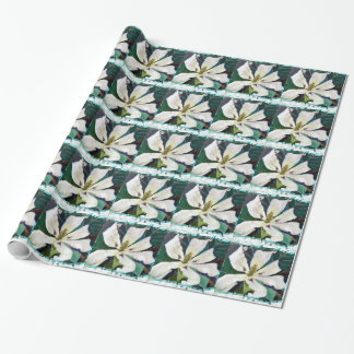 Ashe Magnolia image Wrapping Paper
