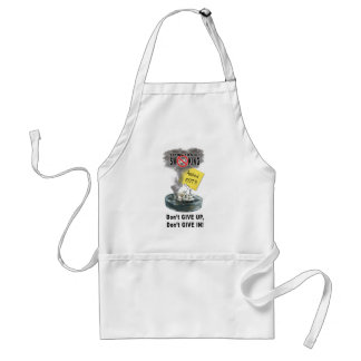 Ashed Out Standard Apron