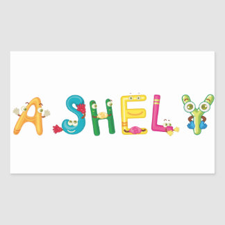 Ashely Sticker