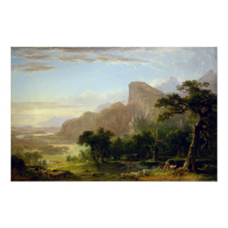 Asher Brown Durand Landscape Thanatopsis Poster