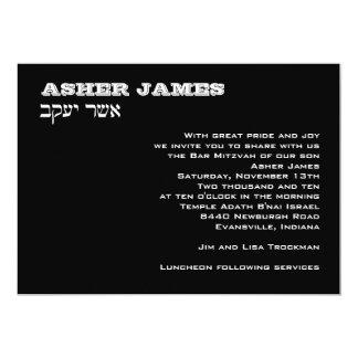 Asher James Custom Card