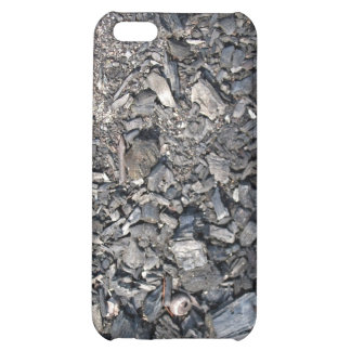 Ashes and Burned wood on the ground Case For iPhone 5C