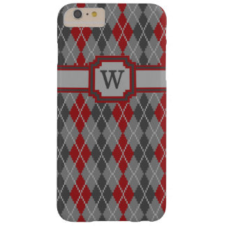 Ashes and Embers Argyle iPhone Case-Mate Case