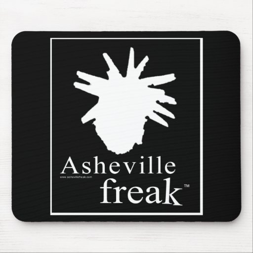 Asheville Freak Mousepad