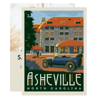 Asheville, North Carolina | Save the Date - Photo Card