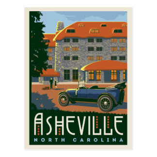 Asheville, North Carolina | Save the Date Postcard
