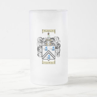 Ashford Frosted Glass Beer Mug
