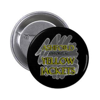 Ashford High School Yellow Jackets - Ashford AL Buttons