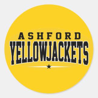 Ashford High School; Yellowjackets Sticker