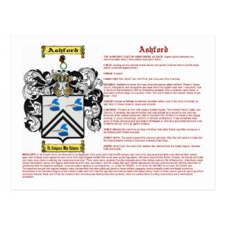 Ashford (meaning) postcard