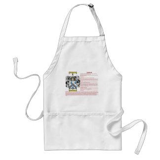 Ashford (meaning) standard apron