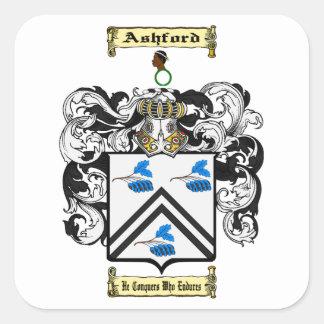 Ashford Square Sticker