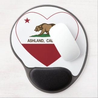 Ashland California Republic Heart Gel Mouse Mat