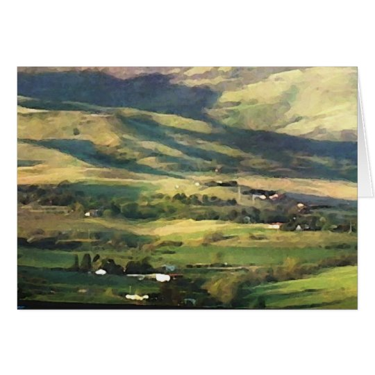 Ashland Hills Blank Greeting Card