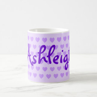 Ashleigh in Purple Coffee Mug