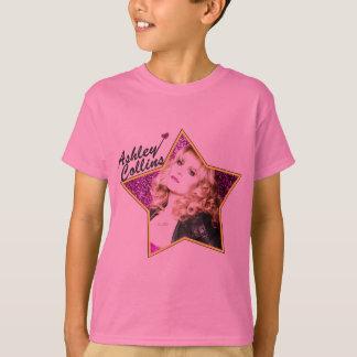 Ashley Collins Kids Star Pink T Shirt. T-Shirt