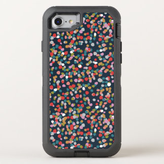Ashley Dots OtterBox Defender iPhone 8/7 Case