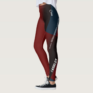 Ashley Gymnastics Leggings with Meets