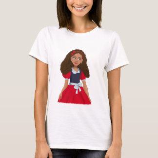 Ashley Ladies Baby Doll (Fitted) T-Shirt