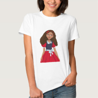 Ashley Ladies Baby Doll (Fitted) Tee Shirt