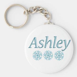Ashley Snowflake Key Ring
