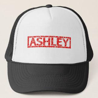 Ashley Stamp Trucker Hat