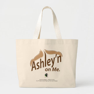 Ashley'n on me Jumbo Tote