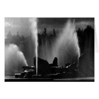 Ashokan Fountain Card