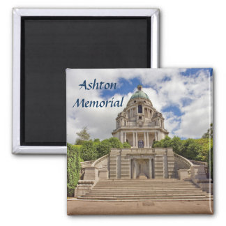 Ashton Memorial in Lancaster souvenir photo Magnet